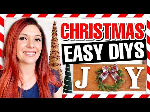 5 SUPER CHEAP & EASY DIY Christmas Decoration Ideas 2020 🎄