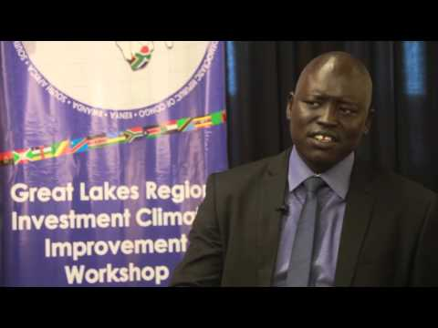 The South Sudan Chamber of Commerce, Industry and Agriculture, Mr. Simon Akuei Deng