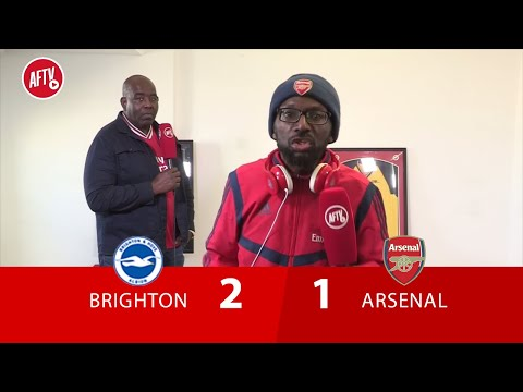 Brighton 2-1 Arsenal   Maupay Your A Cheat, And I hope Brighton Get Relegated (An Angry Ty)