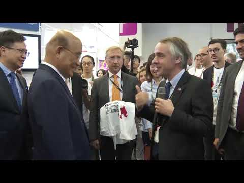Video link: Premier Su Tseng-chang attends opening of InnoVEX 2019 startup exhibition (Open New Window)