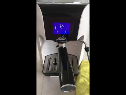 Touch Screen Coffee Maker Operation Video WSD18 050T-JAVA COFFEE MACHINE