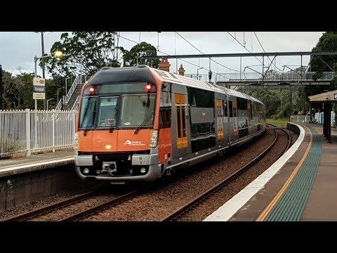 Sydney Trains Vlog 1447: New SGT Waratah Set B1 Transfer (видео)