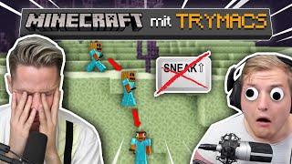 TRYMACS stribt den DÜMMSTEN MINECRAFT TOD im End.. Minecraft mit TRYMACS!