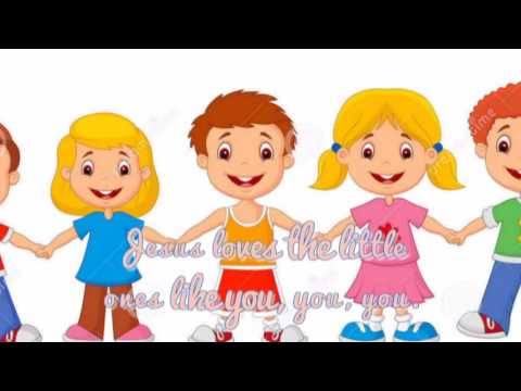 Jesus Loves the Little Ones Like Me ( Lyrics ) - HERITAGE KIDS