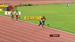 Mo Farah wins 5000 m - World Championships