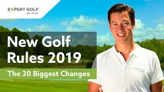 Video NEW GOLF RULES 2019 | The 20 Most Important CHANGES MP3, 3GP, MP4, WEBM, AVI, FLV Oktober 2018