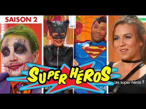 C'est mon choix - Devinez quelles célébrités se cachent derrière ces super-héros ?