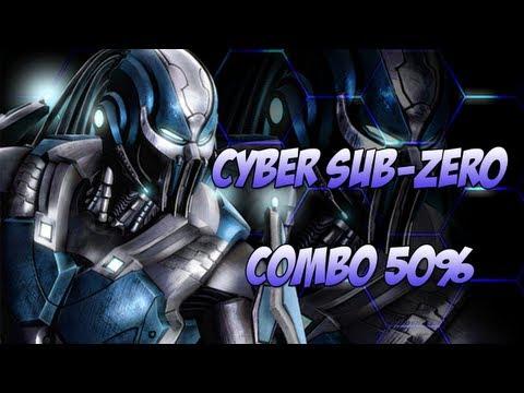 Mortal Kombat 9 - Como fazer combo de 50% com Cyber Sub Zero