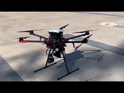 """Drones municipales de Viña entregarán información relevante """"desde el aire"""" con sistema de megáfonos"""