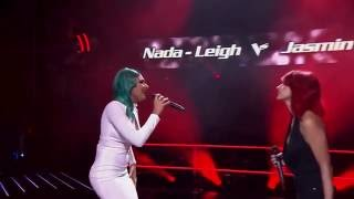 image of Nada-Leigh Nasser vs Jasmin Jade Nasser: 'How Come You Don't Call Me' | The Voice Australia 2016