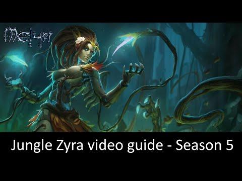 Jungle Zyra Video Guide (Season 5, Diamond 2)
