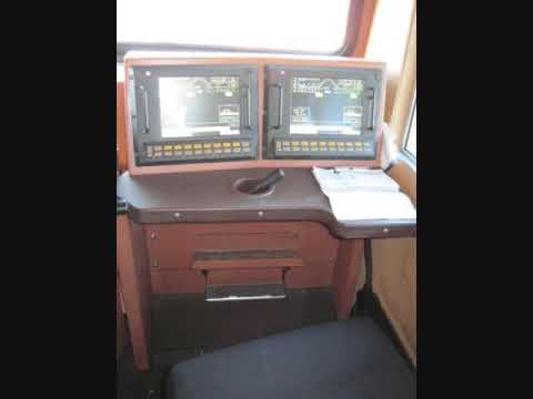 CSX locomotive - a CSX conductor allowed me to explore the cab of his locomotive.