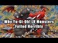 Why Yu Gi Oh Lv Monsters Failed Horribly