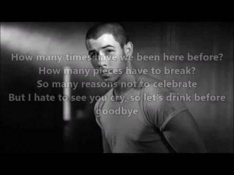 Nick Jonas - Champagne Problems lyrics