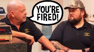 Video Rick Harrison Fires Chumlee Over Huge Loss - Pawn Stars MP3, 3GP, MP4, WEBM, AVI, FLV Oktober 2018