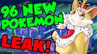 EVERY NEW POKEMON LEAKED?! Pokemon Sword and Shield Pokedex Leak! by Verlisify