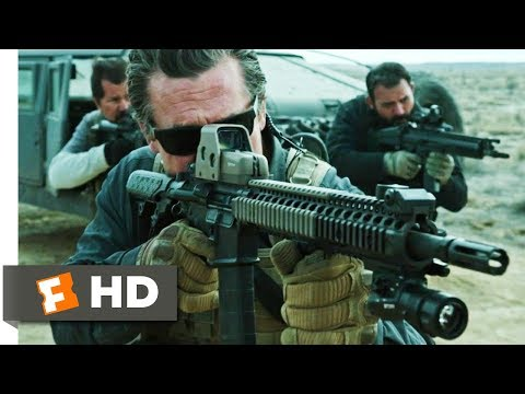 Sicario: Day Of The Soldado (2018) - Police Escort Shootout Scene (6/10) | Movieclips