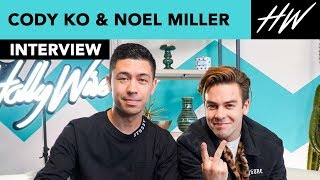 Cody Ko & Noel Miller Spill About Post Malone & Their Favorite Cringe Episode! | Hollywire