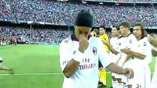 Video FC Barcelona Vs AC Milan - Ronaldinho Return of the King - 25/08/10 MP3, 3GP, MP4, WEBM, AVI, FLV Mei 2017
