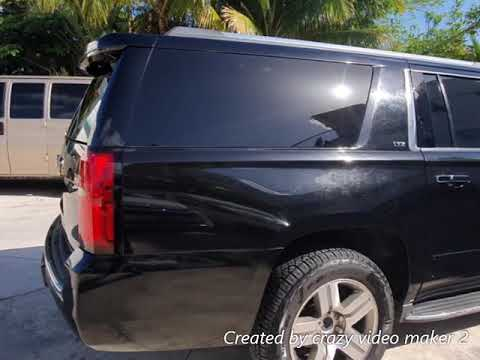 Chevrolet Suburban LTZ 2015 Negra Blindada Nivel 5