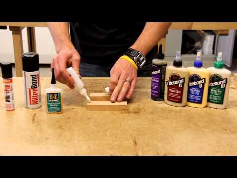 Using CA Glue and Titebond Wood Glue Together