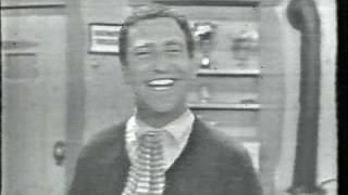Soupy Sales blooper isn't really a blooper. Although the normal straight on door shot made it to air, the shot of the stripper did not.