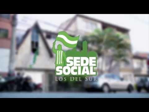 Inauguración Sede Social de LOS DEL SUR, la barra de Atlético Nacional. - Los del Sur - Atlético Nacional