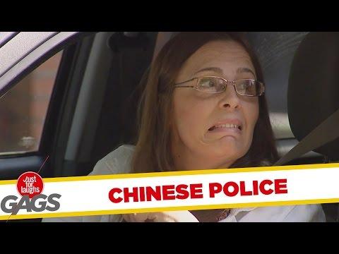 Poliţiştii chinezi (video)