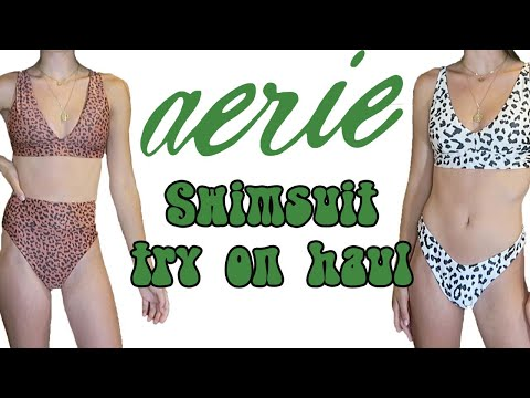 Aerie Swimsuit Try On Haul 2020 | Honest Review!