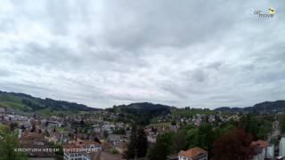 Heiden Switzerland  city photos gallery : AirMove vom Kirchturm Heiden (Switzerland) aus.... 10.Mai 2014