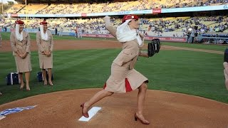 Emirates steals the show with the Los Angeles Dodgers | Baseball | Emirates Airline