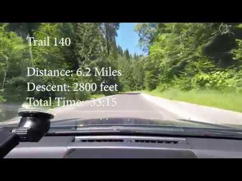 Mt  Spokane Trail 140