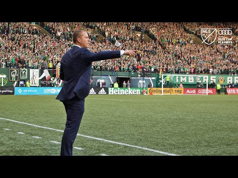 Video: Giovanni Savarese | Timbers 2, Sounders 1 | Audi 2018 MLS Cup Playoffs | Nov. 11, 2018