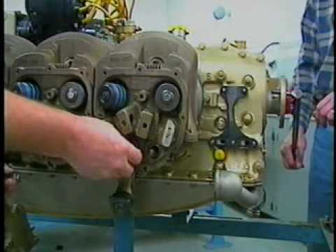TCM Continental Engine Cylinder Removal and Inspection