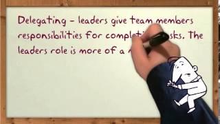 Leadership - Situational Leadership Theory