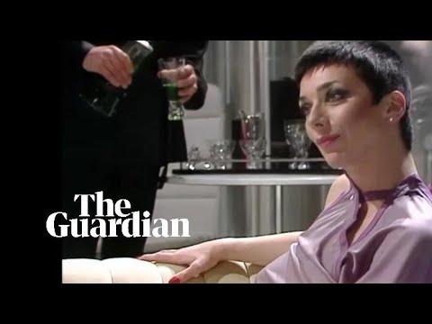 Jacqueline Pearce as the evil genius Supreme Commander Servalan in Blake's 7