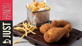 Breaded chicken drumsticks | Akis Petretzikis Kitchen by Akis Kitchen