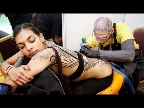 (7th International Nepal Tattoo Convention 2017... 8 min, 45 sec)