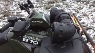 9. Polaris Sportsman 570 Touring