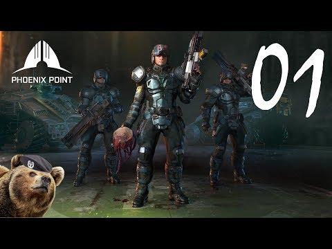 Phoenix Point (Backer Build Pre-Alpha) - Episode 01 (видео)