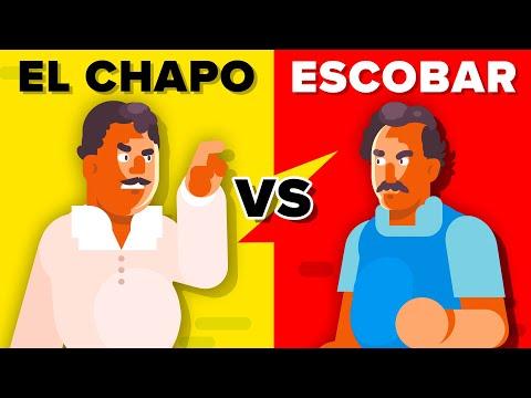 El Chapo Versus Pablo Escobar - How Do They Compare?