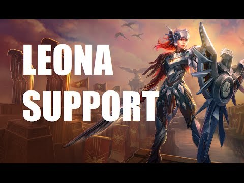 leona - Conner's Channel: http://www.youtube.com/user/GordanRamseyGaming Playing League of Legends as Leona Masteries: 9/0/21 Runes: armor marks and seals mr/lvl gly...