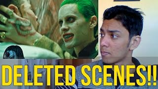 SUICIDE SQUAD: DELETED SCENES REVEALED!