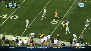 Stedman Bailey vs Marshall, Baylor, Texas (2012)