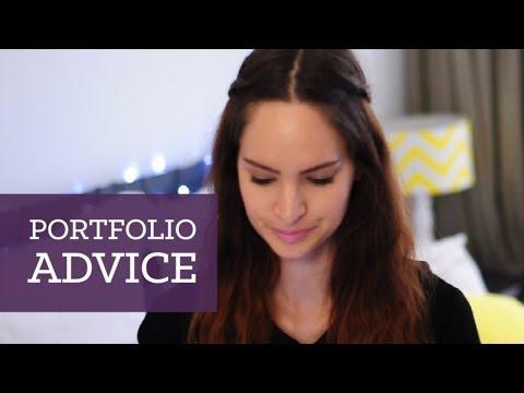 Design portfolio advice | CharliMarieTV