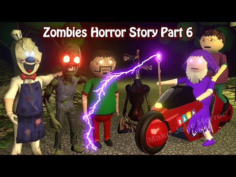 Zombies Horror Story Part 6 | Siren Head | Apk Android Games | Best Animated Movies | 3d Animation
