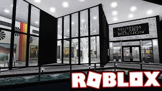 MUSEUM OF MODERN ART & DESIGN!!! | Subscriber Tours (Roblox Bloxburg)