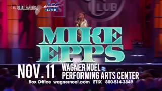 Web Video for Mike Epps Show in Midland, TX on Fri, Nov 11th