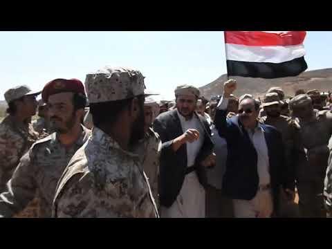 من صعدة ..نائب الرئيس الفريق الركن علي محسن صالح: