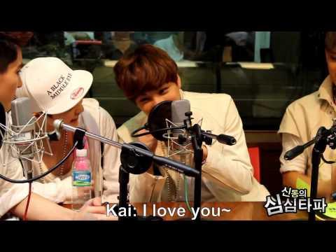 [Eng Sub] EXO Kai aegyo cut (видео)